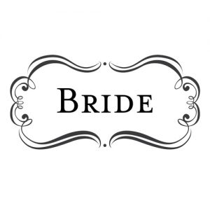 """Bride"" Stamp – Three Designing Women"