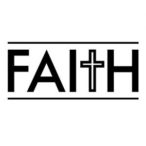 """Faith"" Stamp – Three Designing Women"