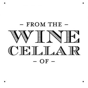 """Wine Cellar"" Stamp – Three Designing Women"