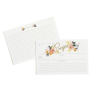 Peony Recipe Cards – Rifle Paper Co.