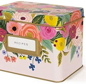 Juliet Rose Tin Recipe Box – Rifle Paper Co.
