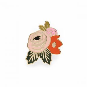 Rosa Enamel Pin – Rifle Paper Co.