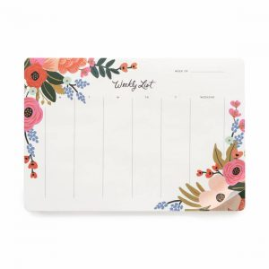 Lively Floral Weekly Desk Pad – Rifle Paper Co.