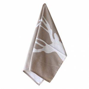 Tan Deer Kitchen Towel – Casafina