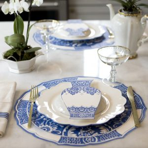 China Blue Vase Table Accent – Hester & Cook