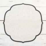 Swiss Dot Medallion Paper Placemats – Hester & Cook