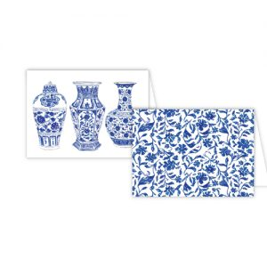 Blue and White Urns Note Combos – Roseanne Beck