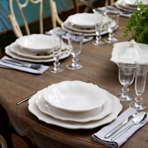 White Impressions Dinner Plate – Casafina