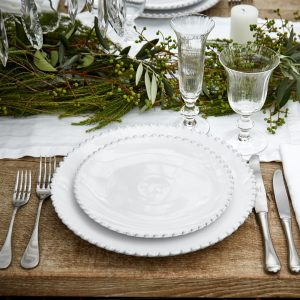 White Pearl Dinner Plate – Costa Nova
