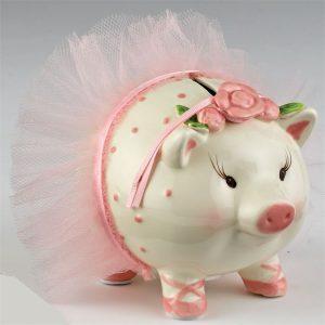 Ballerina Piggy Bank – Mudpie