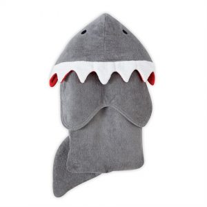Shark Hooded Towel – Mudpie