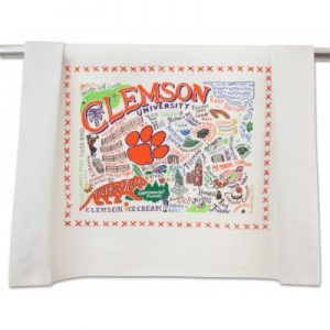 Clemson Tea Towel – catstudio
