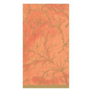 Gilded Majolica Paper Guest Towel Napkins  – Caspari
