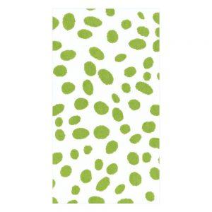Spots Paper Linen Guest Towel Napkins – Caspari