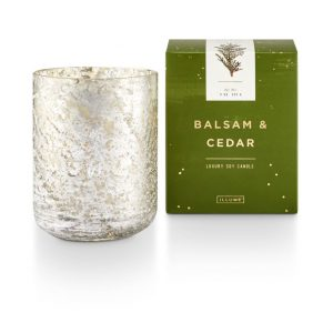 Illume® Balsam & Cedar | Mercury Glass – Large