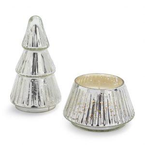 Illume® Balsam & Cedar   Mercury Glass Tree