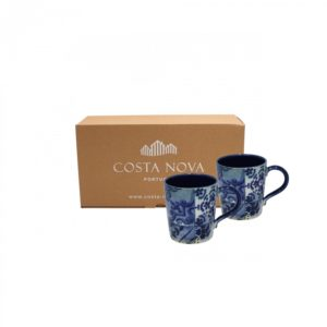 Lisboa Collection Set of 2 Mugs – Costa Nova