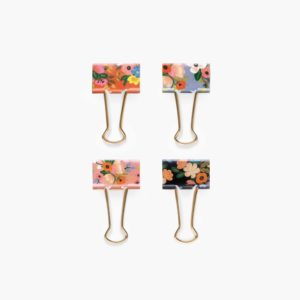Lively Floral Binder Clips – Rifle Paper Co.
