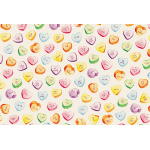 Hester & Cook Conversation Hearts Placemat