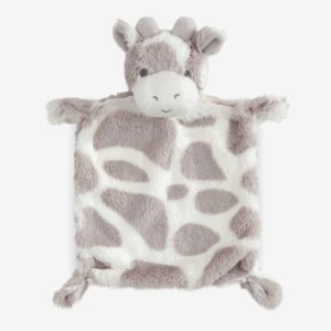 GIRAFFE FLAT BABY SECURITY BLANKET
