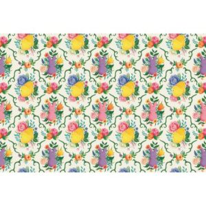 Hester & Cook Peeps Garden Toile Placemat