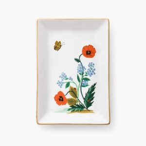 Poppy Botanical Catchall Tray – Rifle Paper Co.