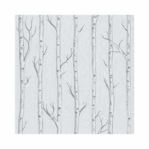 Birch Guest Towel Napkins – Caspari