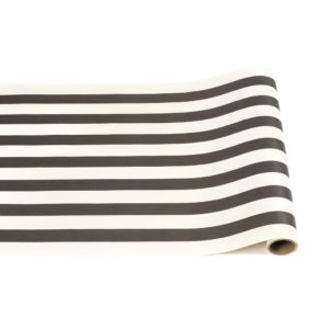 Hester & Cook Black Classic Stripe Runner