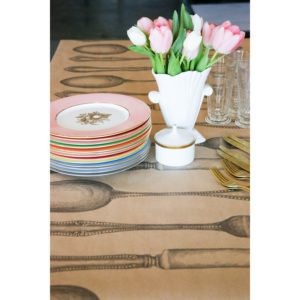 Hester & Cook Cutlery on Kraft Runner