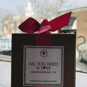 All You Need is Love Candle by Ella B. Candles