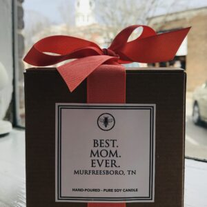 Best. Mom. Ever. Candle by Ella B. Candles