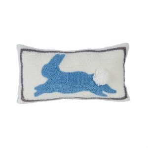 Blue Bunny Pillow