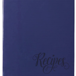Blue Provence 3-Ring Recipe Book