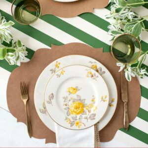 Hester & Cook Die Cut Kraft French Frame Placemat
