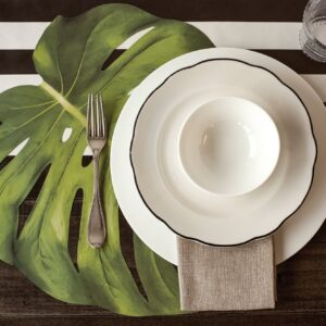 Hester & Cook Die-cut Monstera Leaf Placemat