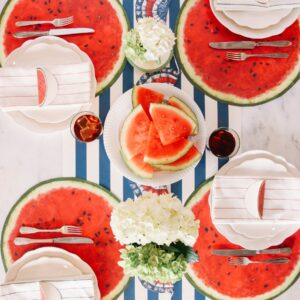 Hester & Cook Die Cut Watermelon Placemat
