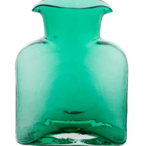 Blenko Glass Water Bottle – Seafoam